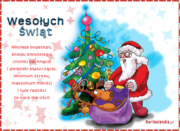 e-Kartka z Mikołajem