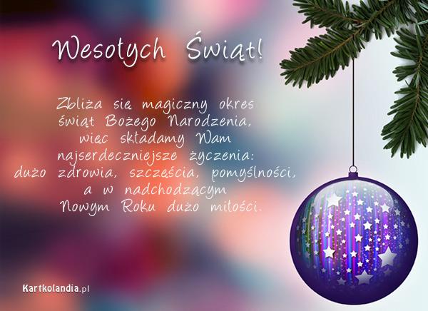 Magiczny czas świąt