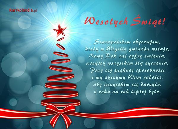 Świąteczny obyczaj