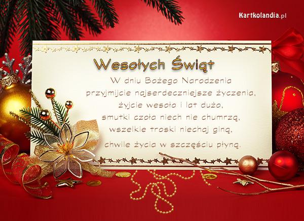 eKartki elektroniczne z tagiem: Kartki mikołaj darmowe Święta bez trosk,