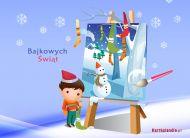 eKartki elektroniczne z tagiem: eKartki Bajkowych Świąt,