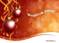 eKartki Boże Narodzenie Banieczki z choineczki,