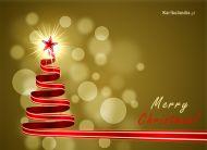 eKartki Boże Narodzenie Blask choinki,