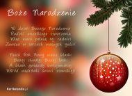 eKartki Boże Narodzenie Bożej chwały,