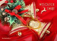eKartki Boże Narodzenie Bożonarodzeniowe dzwoneczki,