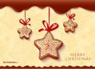 eKartki elektroniczne z tagiem: Darmowe ekartki bożonarodzeniowe Bożonarodzeniowe pierniki,