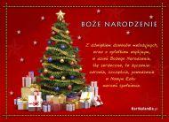eKartki Boże Narodzenie Choinka z prezentami,
