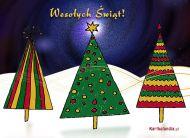 eKartki Boże Narodzenie Choinki świąteczne,