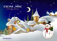 eKartki elektroniczne z tagiem: Kartki bożonarodzeniowe Cicha noc,