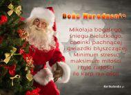 eKartki Bo¿e Narodzenie e-Kartka Mikolaj,