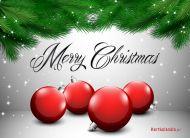 eKartki Boże Narodzenie e-Kartka z bańkami,