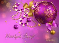 eKartki Boże Narodzenie e-Kartka z bombką,