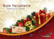eKartki Boże Narodzenie Góra prezentów,
