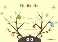 eKartki Boże Narodzenie Ho, ho, ho,