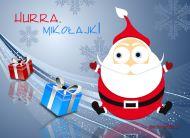 eKartki Boże Narodzenie Hurra, Mikołajki,