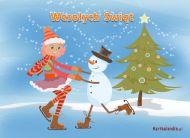 eKartki Boże Narodzenie Igraszki na Boże Narodzenie,