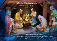 eKartki Boże Narodzenie Jezus na sianku,