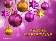 eKartki Boże Narodzenie Kartka z bańkami,