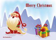 eKartki Boże Narodzenie Kartka z prezentami,