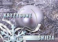 eKartki Boże Narodzenie Kryzysowe święta,