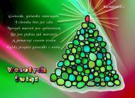 eKartki Boże Narodzenie Lśniąca choinka,