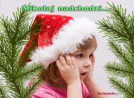 eKartki Boże Narodzenie Mikołaj nadchodzi,