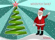 eKartki Boże Narodzenie Mikołajkowe pozdrowienia,