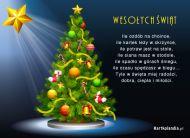 eKartki Boże Narodzenie Ozdobna choinka,