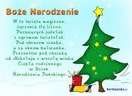 eKartki Boże Narodzenie Pachnąca jodełka,