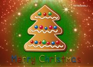 eKartki elektroniczne z tagiem: Kartka bożonarodzeniowa Piernikowa choinka,