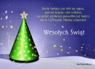 eKartki Boże Narodzenie Pierwsza gwiazdka,