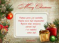 eKartki Boże Narodzenie Pora świąt,