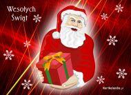 eKartki Boże Narodzenie Prezent od Mikołaja,