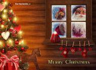 eKartki Boże Narodzenie Puk, puk Mikołaj,