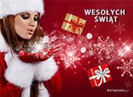 eKartki Boże Narodzenie Radość w Boże Narodzenie,