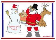 eKartki Boże Narodzenie Radosnych Świąt,