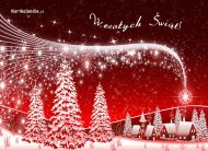 eKartki Boże Narodzenie Śnieżnobiałe święta,