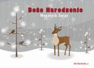 eKartki Boże Narodzenie Śnieżnobiałe życzenia,
