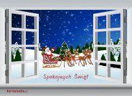 eKartki Boże Narodzenie Spokojnych Świąt,