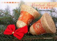 eKartki Boże Narodzenie Stroik dzwoneczki,