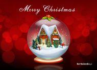 eKartki Boże Narodzenie Świąteczna kula,