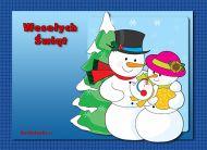 eKartki Boże Narodzenie Świąteczna rodzinka,