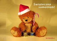 eKartki Boże Narodzenie Świąteczna samotność,