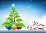 eKartki Boże Narodzenie Świąteczne drzewko,
