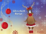 eKartki Boże Narodzenie Świąteczne spojrzenie,