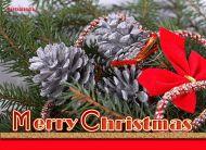 eKartki Boże Narodzenie Świąteczne szyszki,