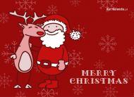 eKartki Boże Narodzenie Świąteczni przyjaciele,