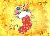 eKartki Boże Narodzenie Świąteczny but,