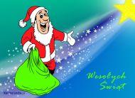 eKartki Boże Narodzenie Świąteczny Czarodziej,