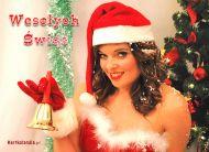 eKartki Boże Narodzenie Świąteczny dzwoneczek,